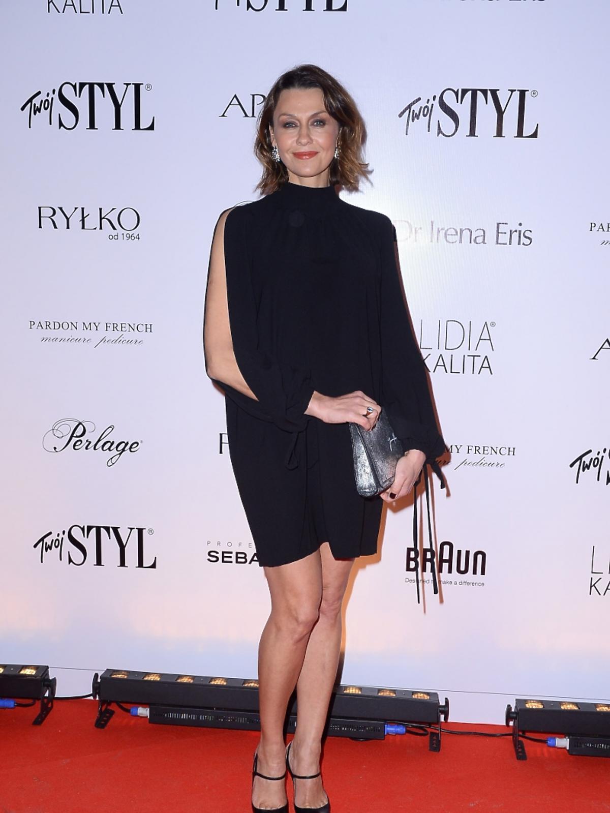 Anna Popek na imprezie Doskonałość Mody Twojego Stylu