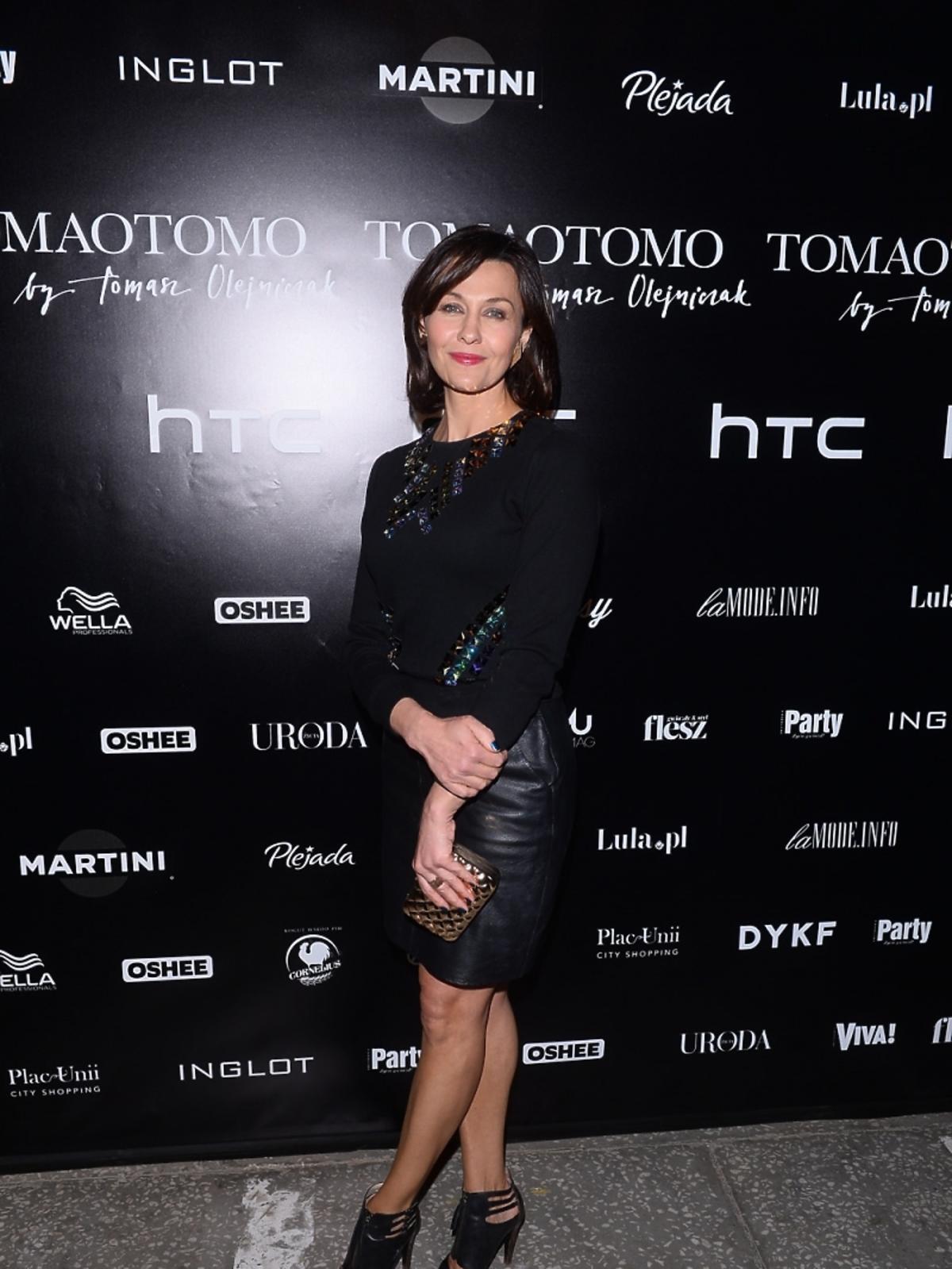 Anna Popek na pokazie Tomaotomo