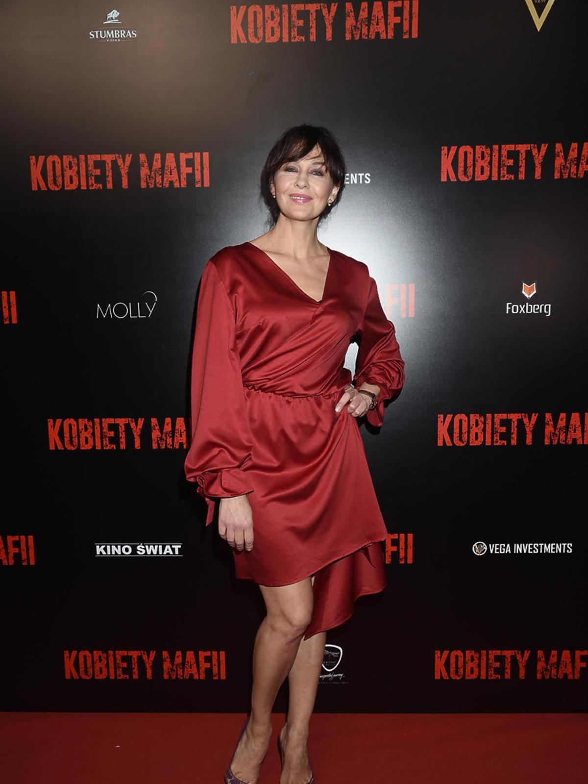 Anna Popek na premierze Kobiet Mafii