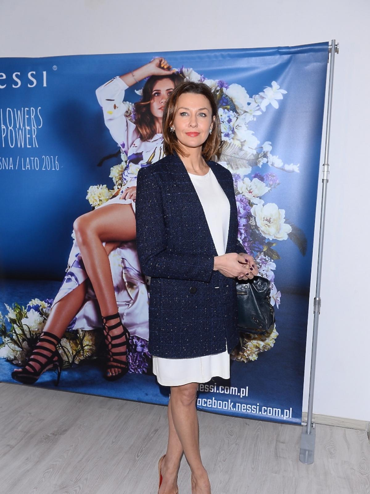 Anna Popek na prezentacji nowej kolekcji Nessi
