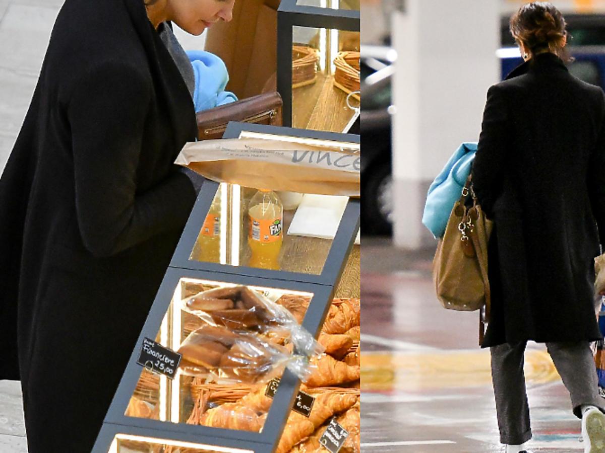 Anna Popek przyłapana na kupowaniu łakoci w centrum handlowym