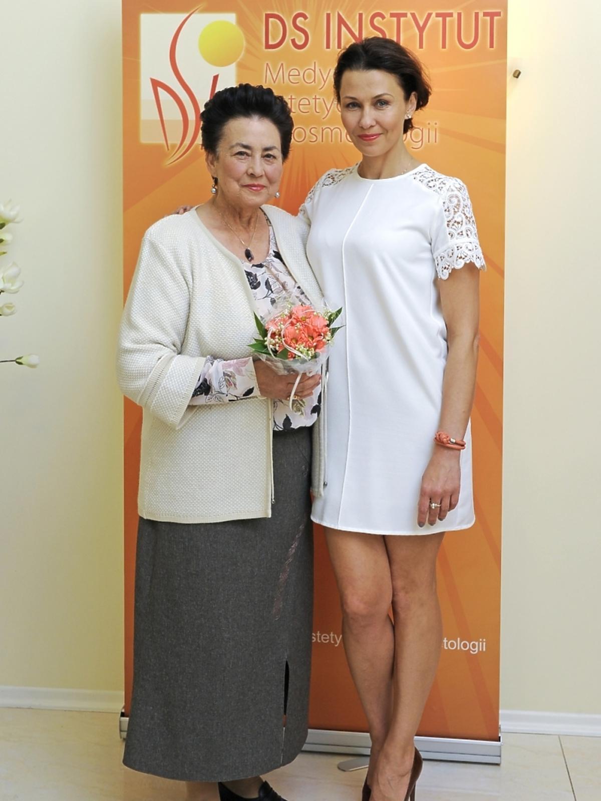 Anna Popek z mamą