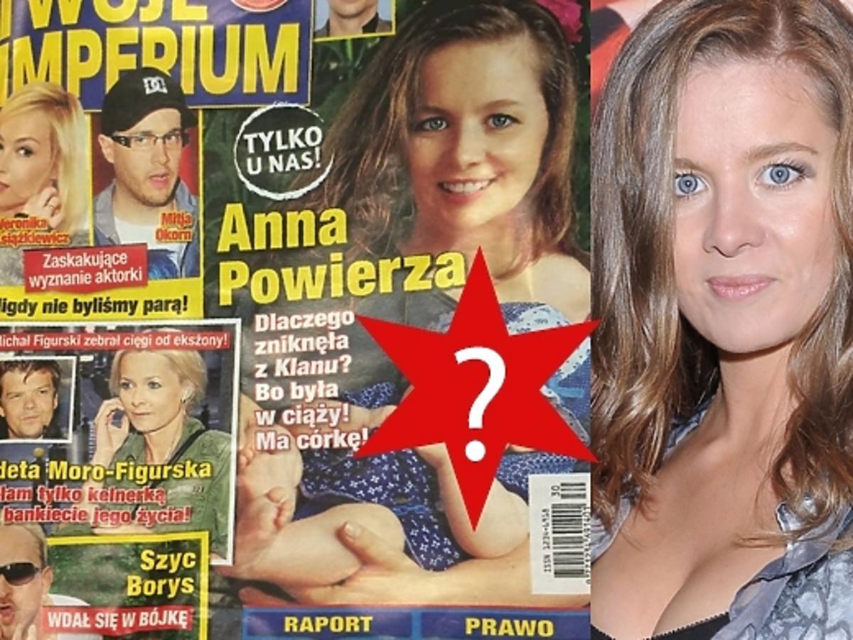 Anna Powierza pokazała córkę na okładce