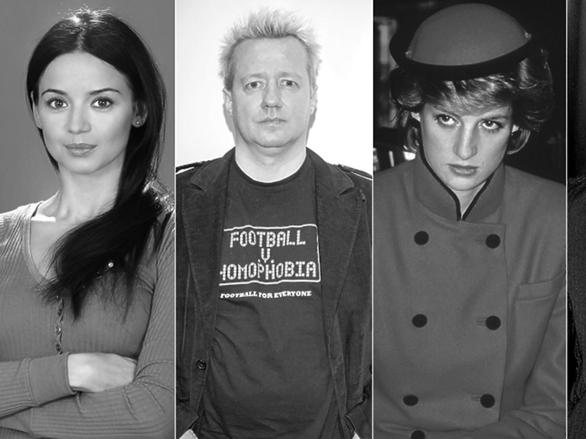 Anna Przybylska, Robert Leszczyński, księżna Diana, Heath Ledger
