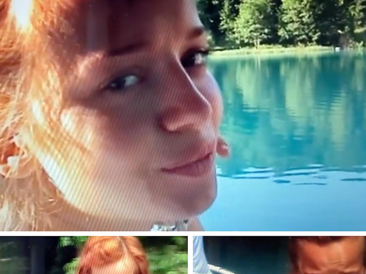 Anna Przybylska, screen z prywatnego wideo opublikowanego przez męża, Jarosława Bieniuka
