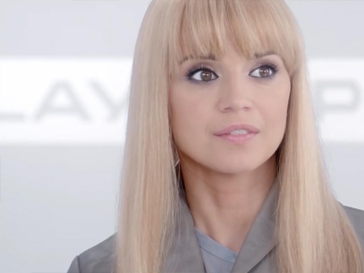 Anna Przybylska w reklamie Play