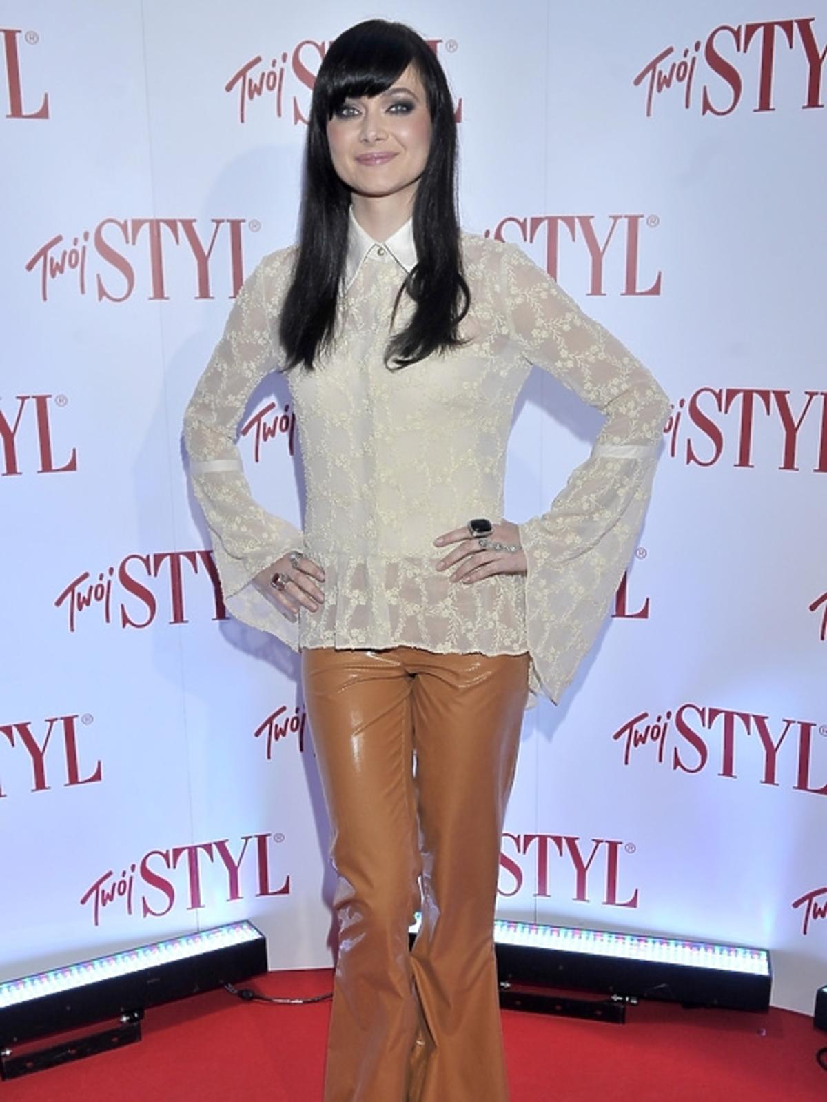 Anna Rusowicz na gali Doskonałość Roku Twojego Stylu 2012