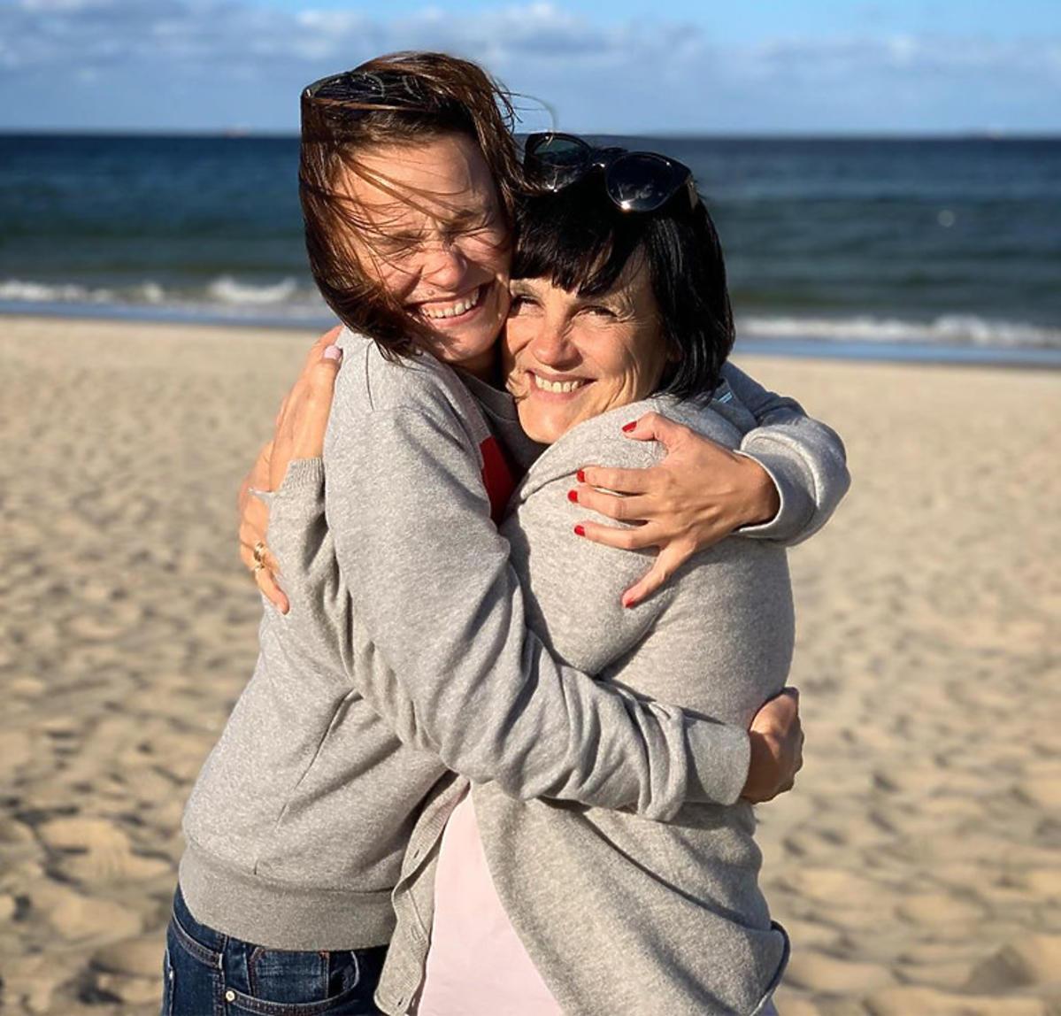 Anna Starmach z mamą