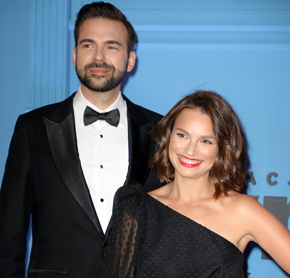 Anna Starmach z mężem