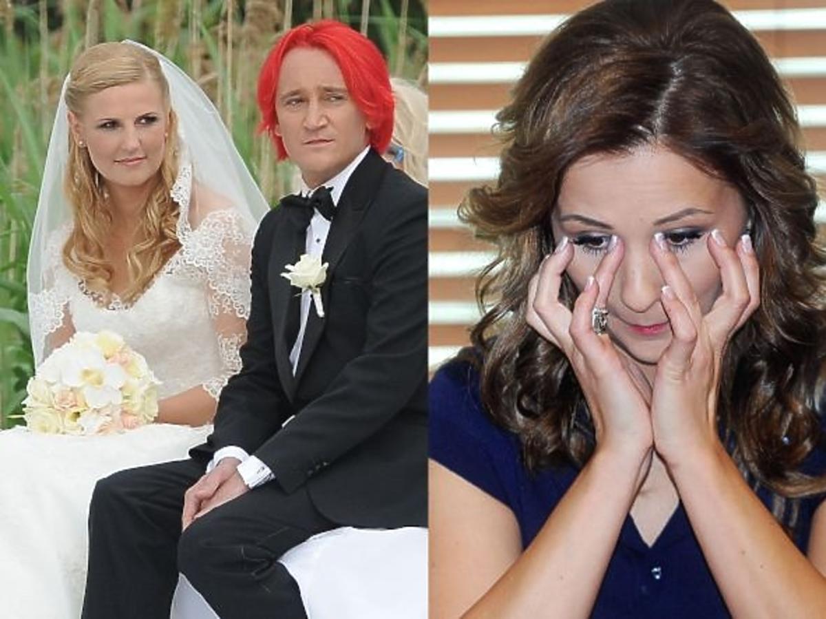 Anna Świątczak przeżywała ślub Wiśniewskiego i Tajner