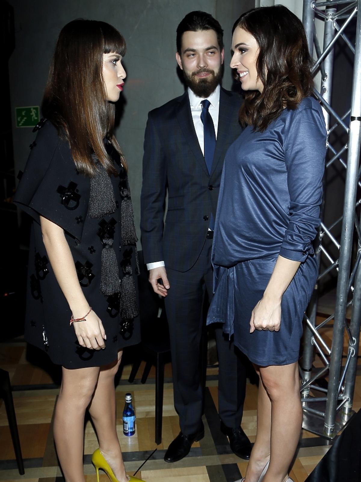 Anna Wendzikowska i Patryk Ignaczak na imprezie Flesz Fashion Nighti