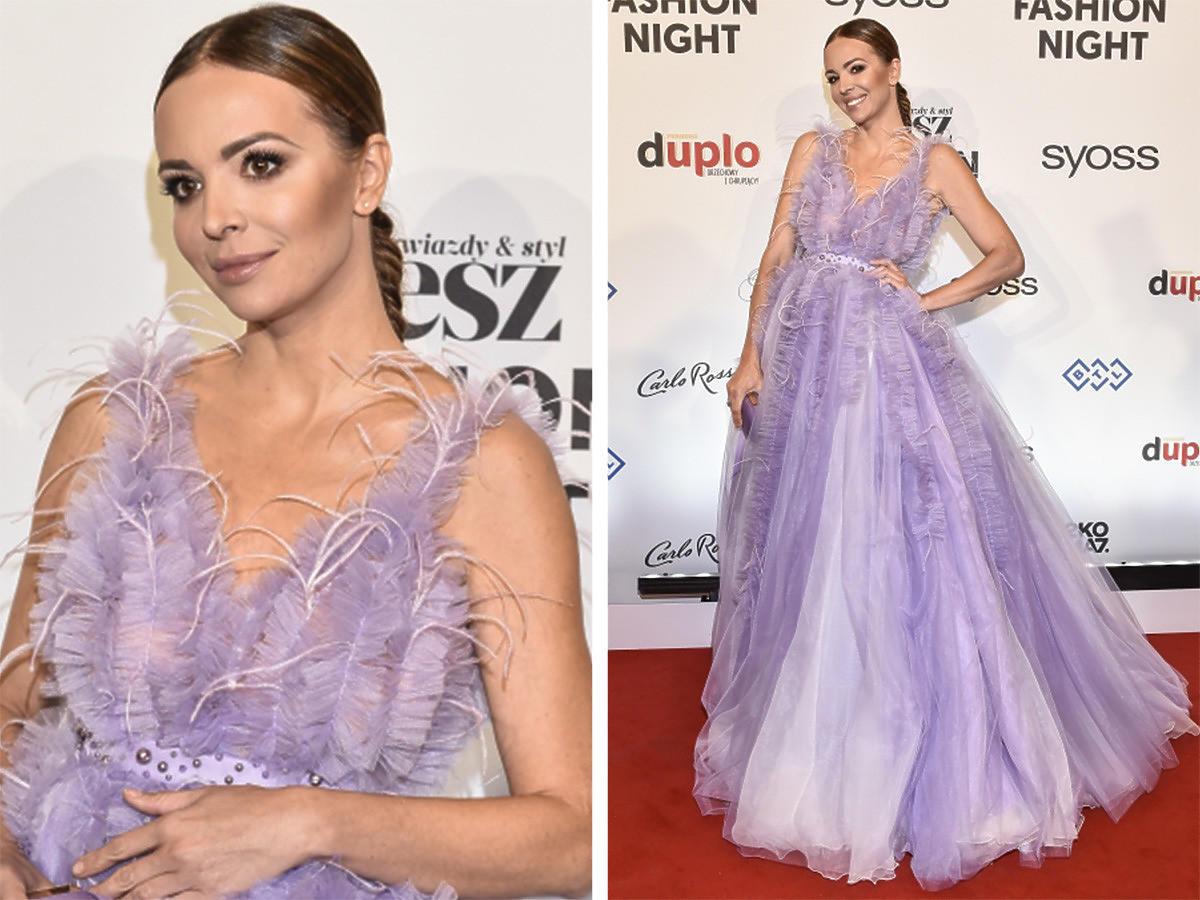 Anna Wendzikowska jak księżniczka na Flesz Fashion Night