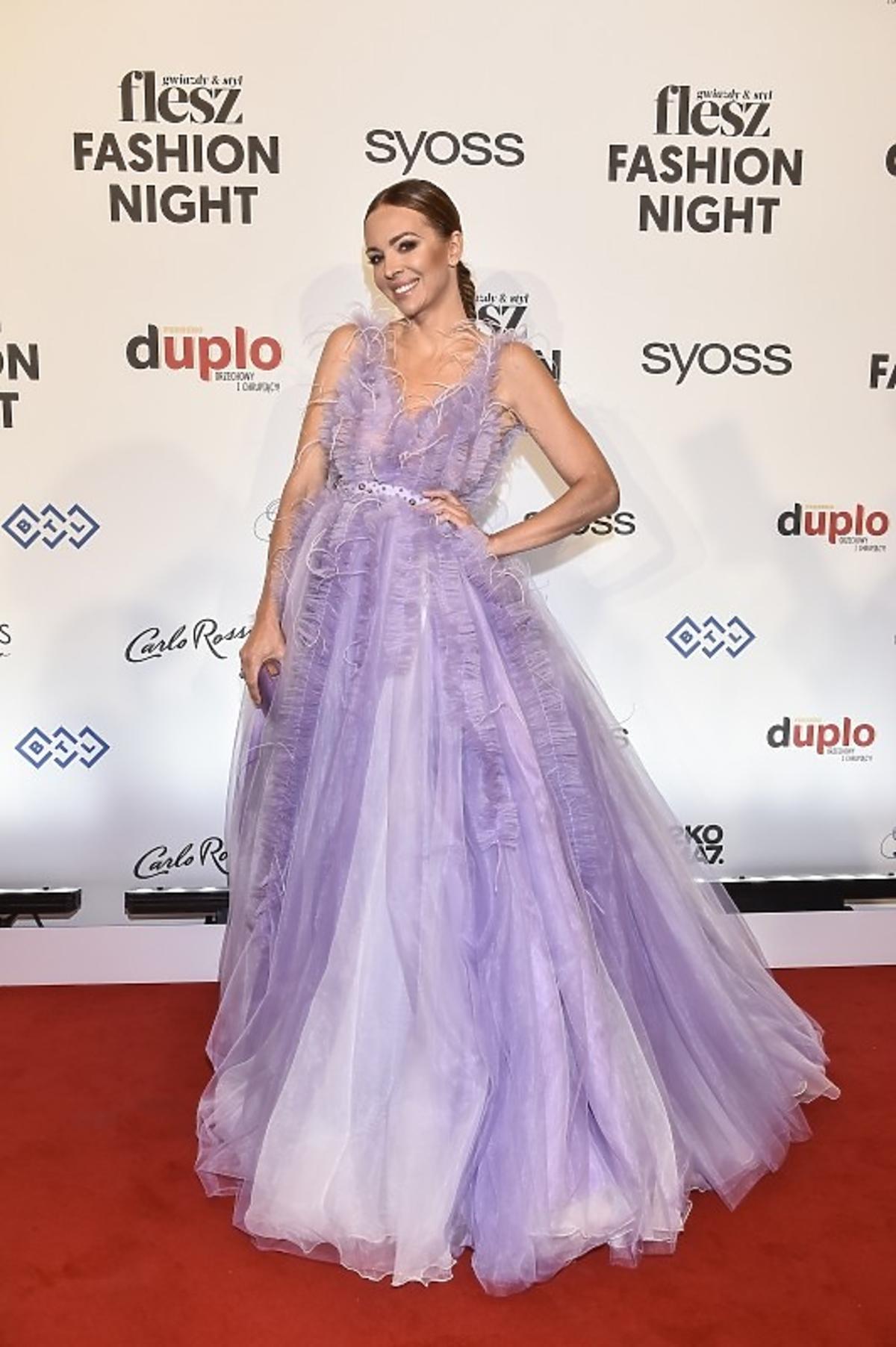 Anna Wendzikowska na Flesz Fashion Night wyglądała jak księżniczka