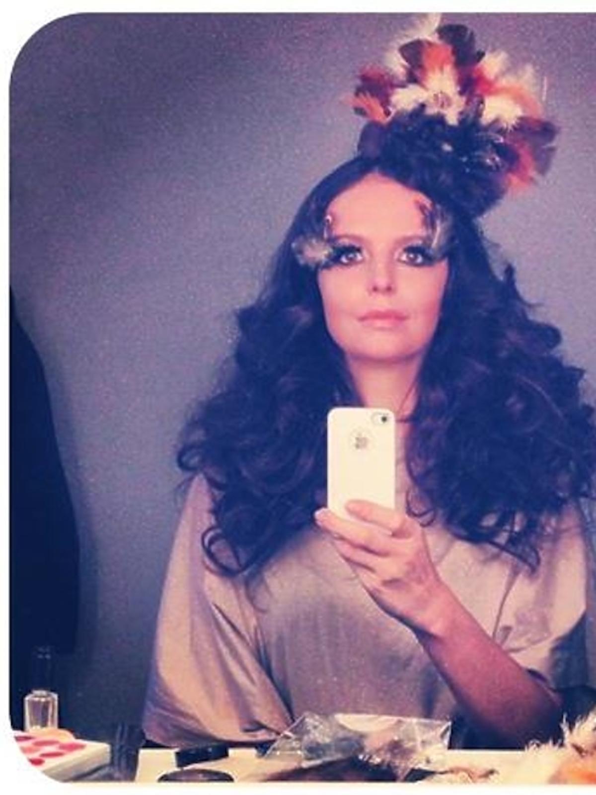 Anna Wendzikowska na Halloween przebrała się z Lanę Del Rey