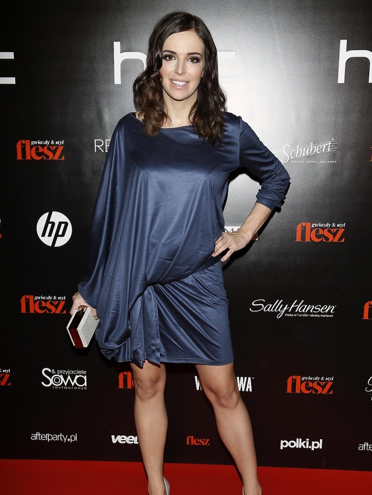 Anna Wendzikowska na imprezie Flesz Fashion Night