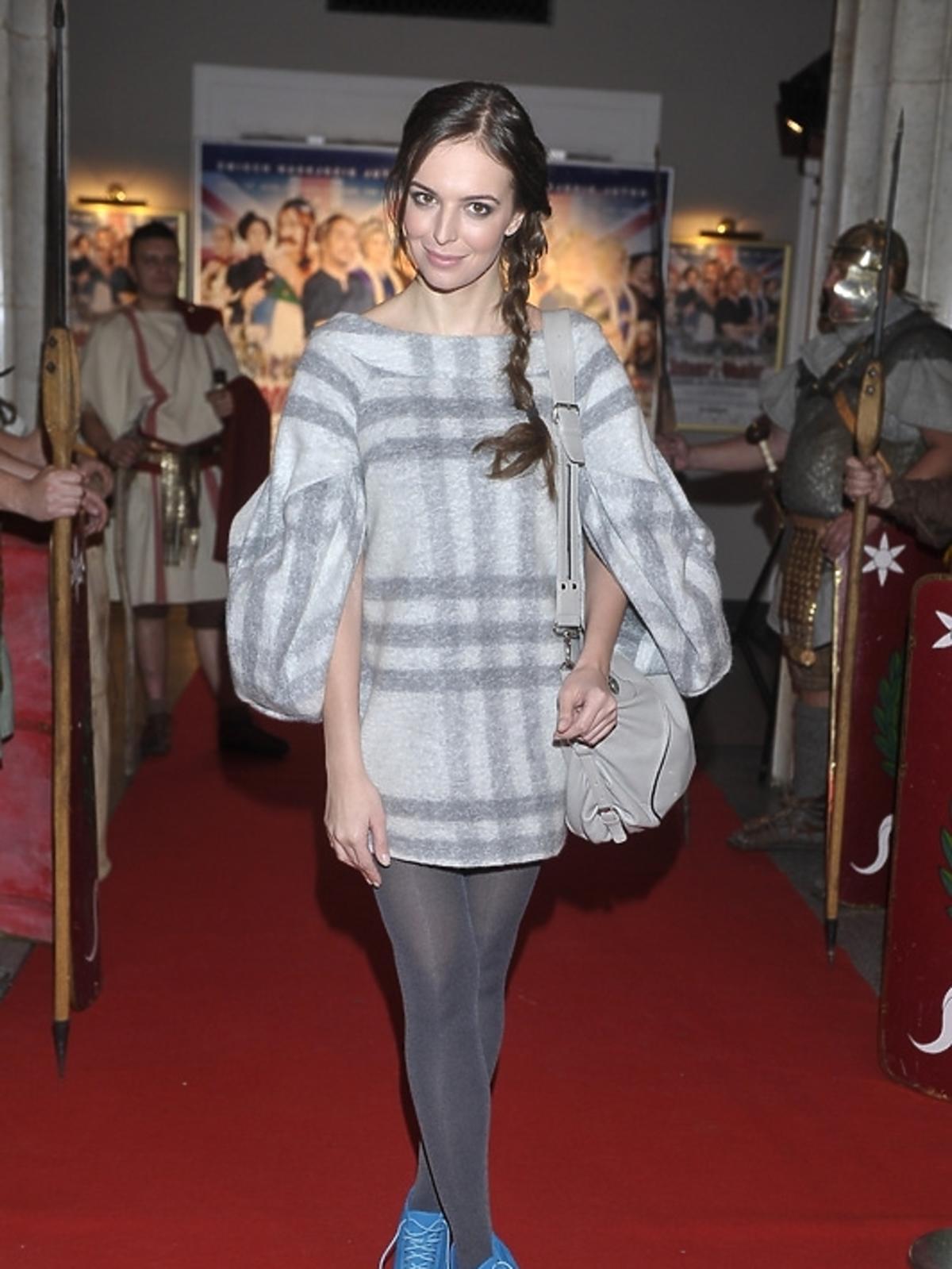 Anna Wendzikowska na premierze filmu