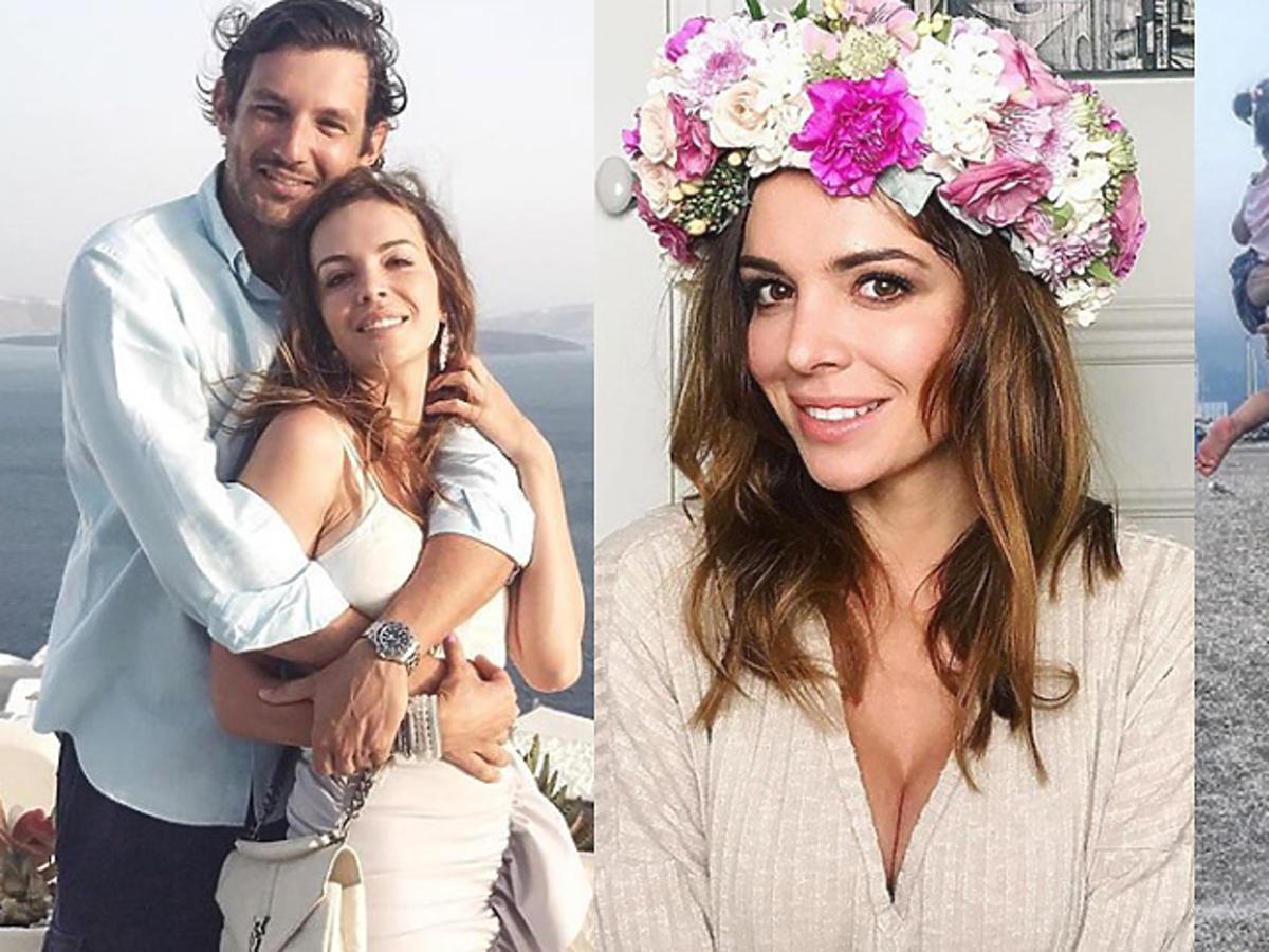 Anna Wendzikowska z córką i partnerem na Instagramie