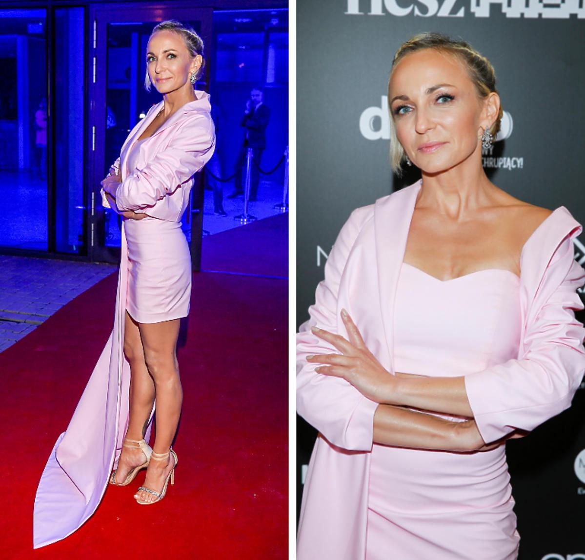 Anna Wyszkoni na gali Flesz Fashion Night 2019
