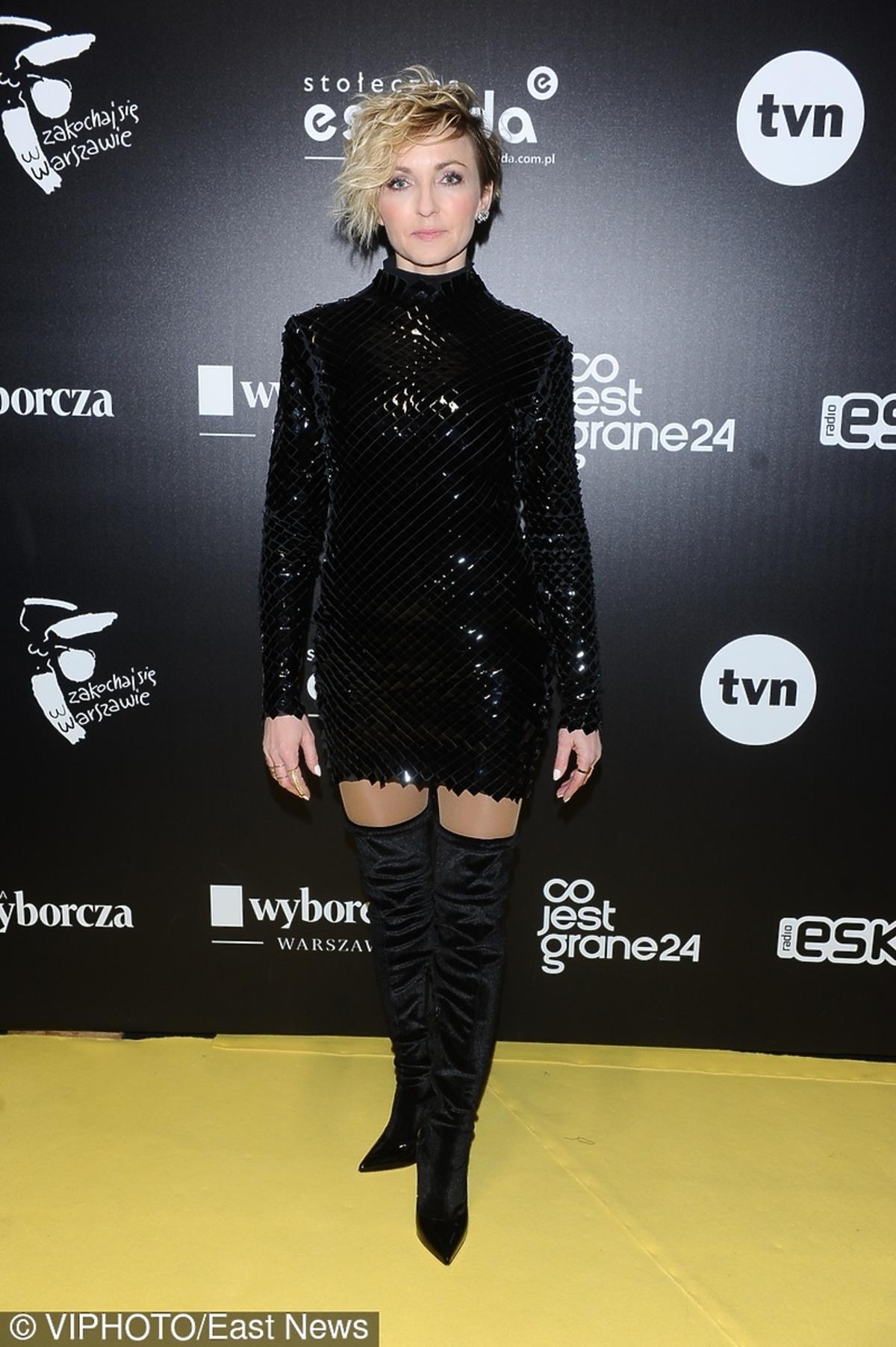 Anna Wyszkoni na Sylwestrze TVN 2016/2017