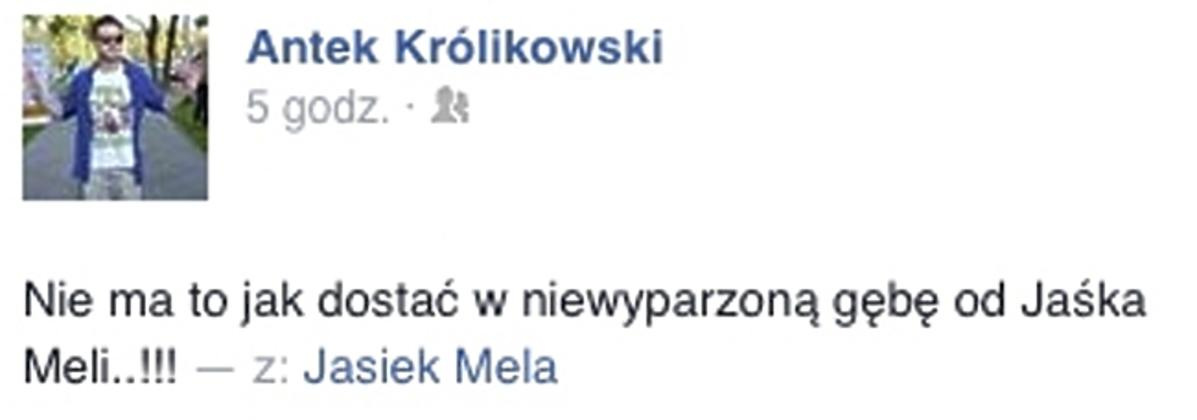Antek Królikowski i Jan Mela