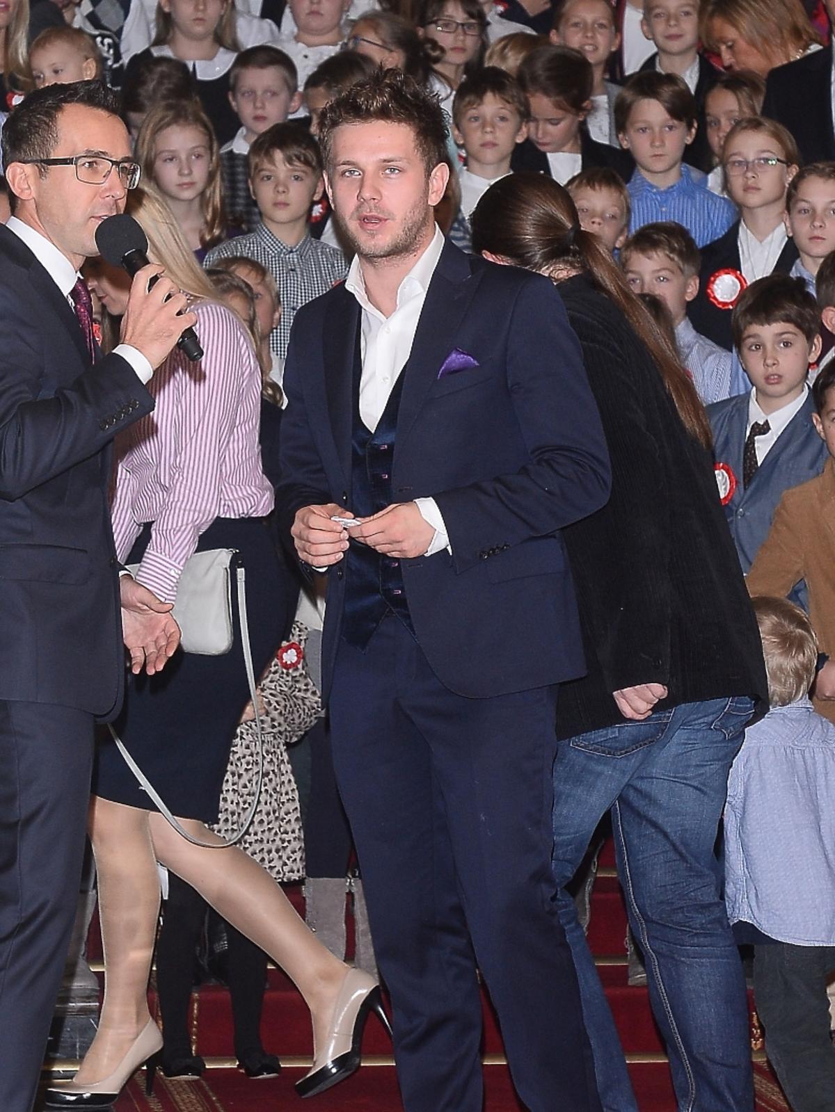 Antoni Królikowski na spotkaniu z prezydentem RP