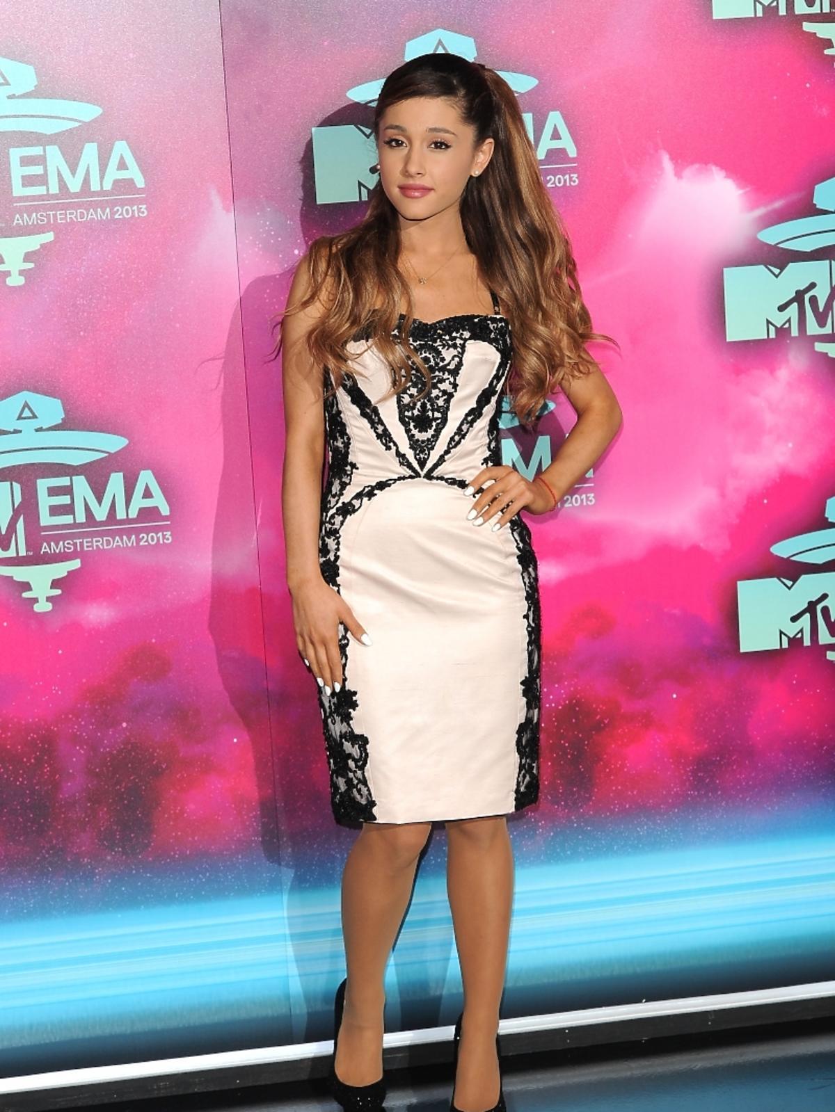 Ariana Grande na gali MTV EMA 2013 w Amsterdamie