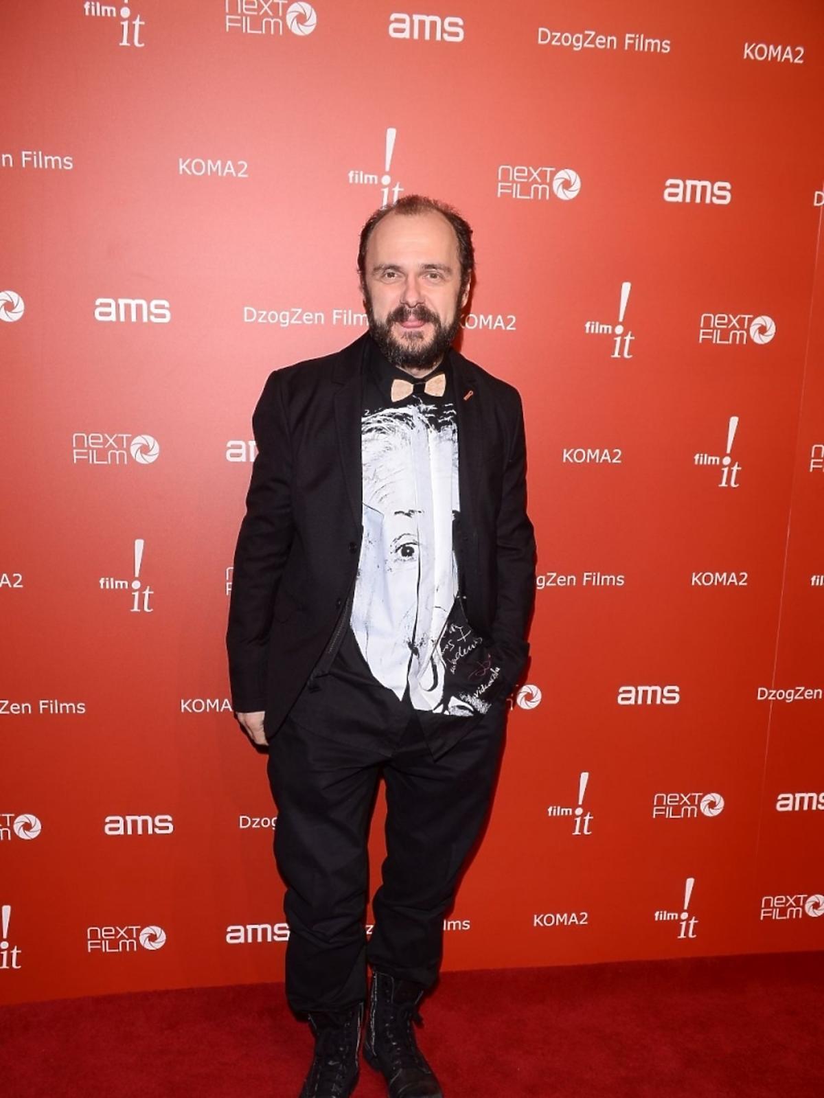 Arkadiusz Jakubik na premierze