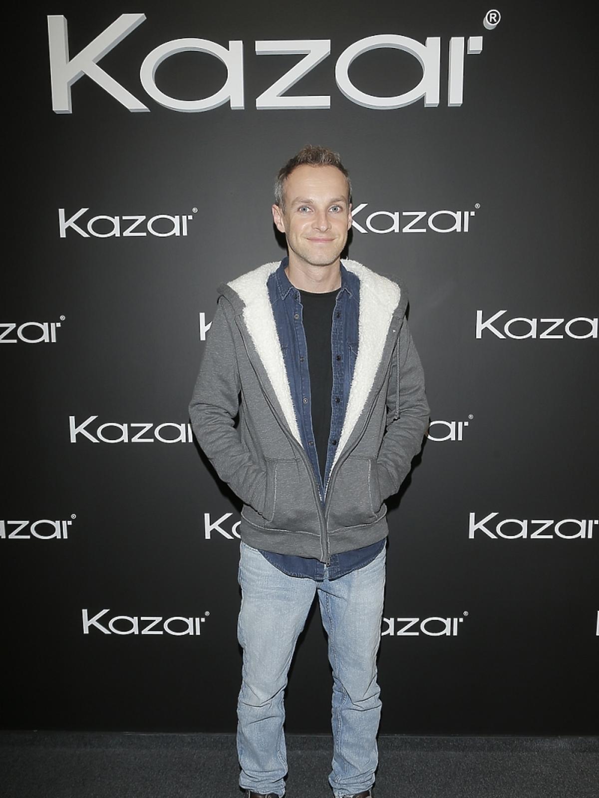 Artur Chamski na pokazie Kazara