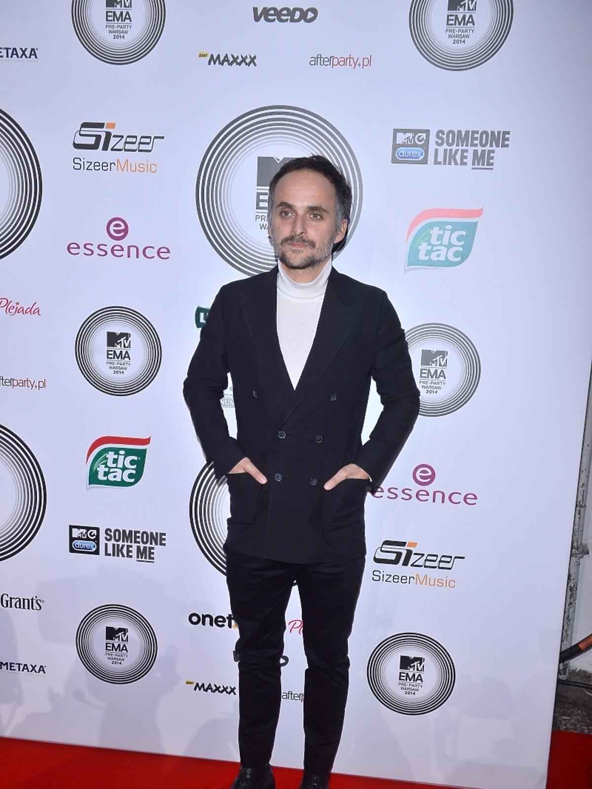Artur Rojek na MTV EMA Pre-Party 2014