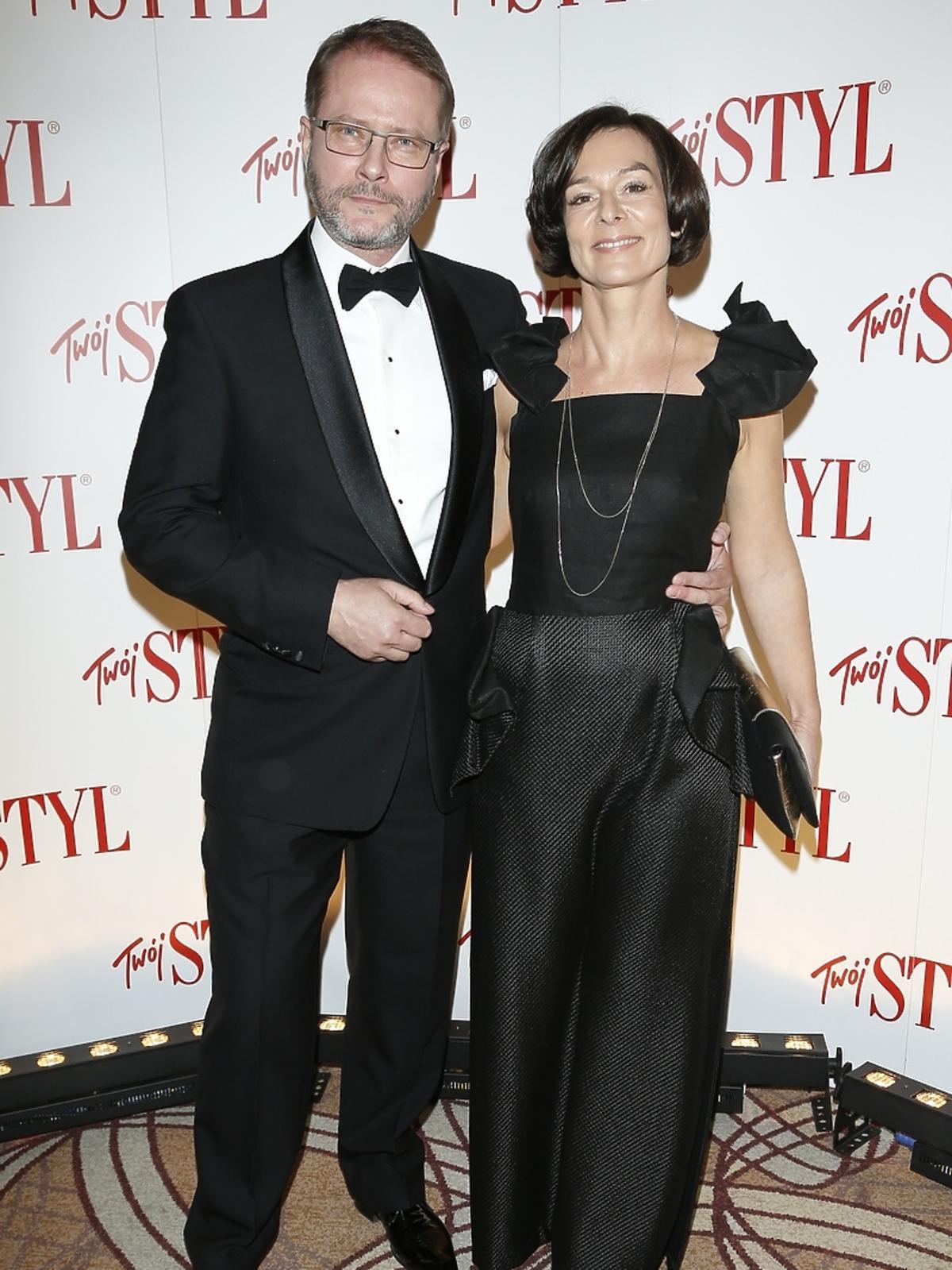 Artur Żmijewski z żoną na gali Doskonałość Roku Twojego Stylu 2014