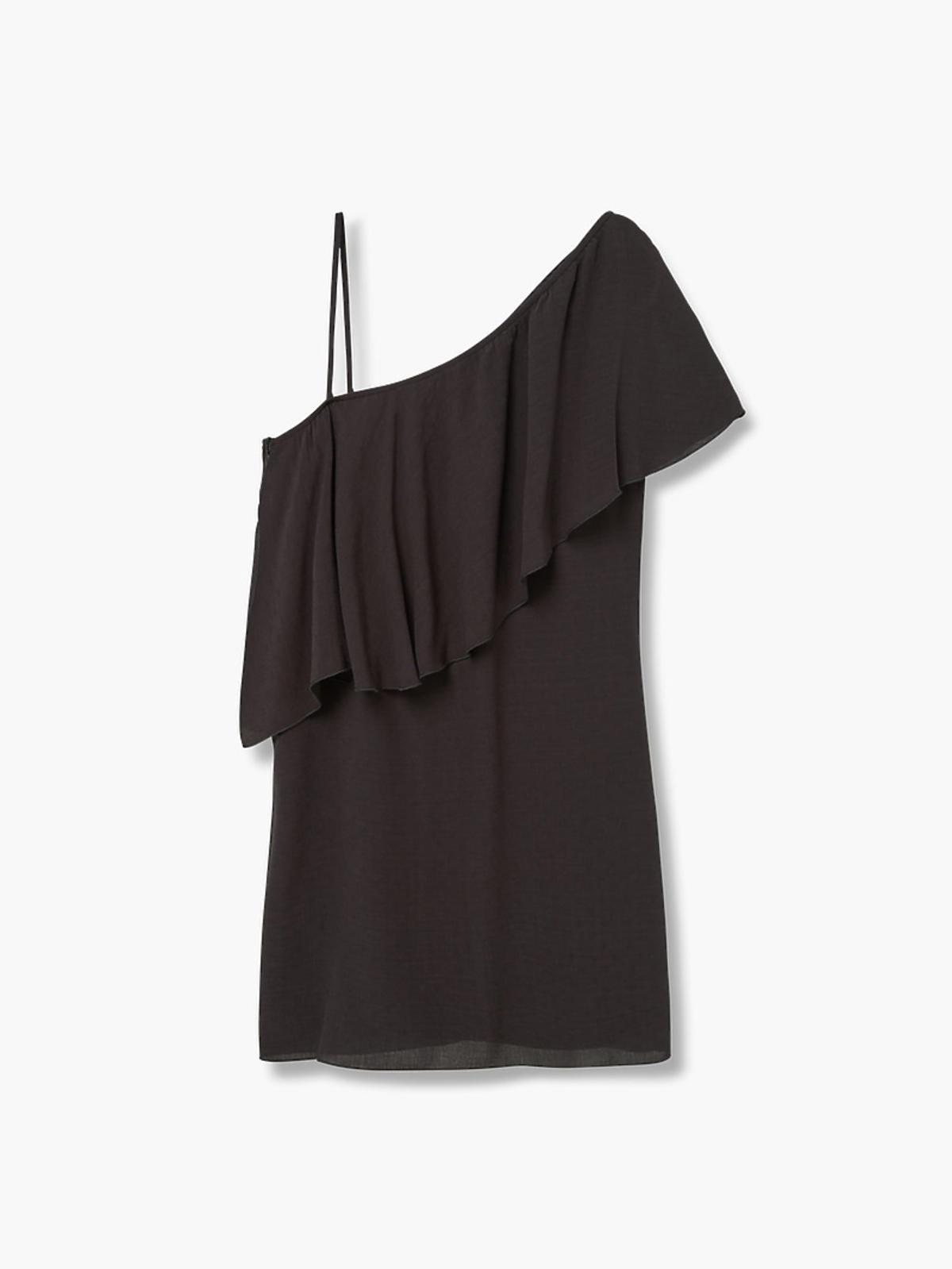 Asymetryczna sukienka, Mango, przeceniona z 89,90 zł na 59,90 zł