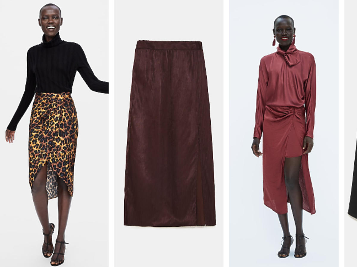 Asymetryczne spódnice Zara