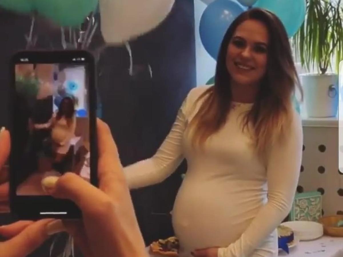 Baby shower żony Rafała Maślaka