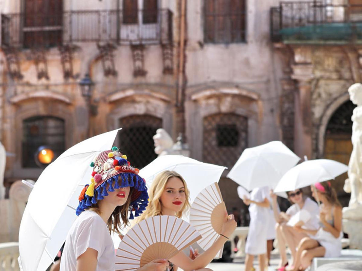 Backstage Dolce & Gabbana alta moda