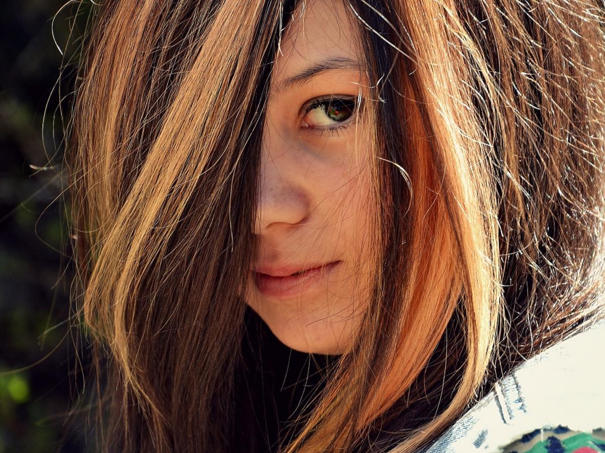 Balejaż na włosach
