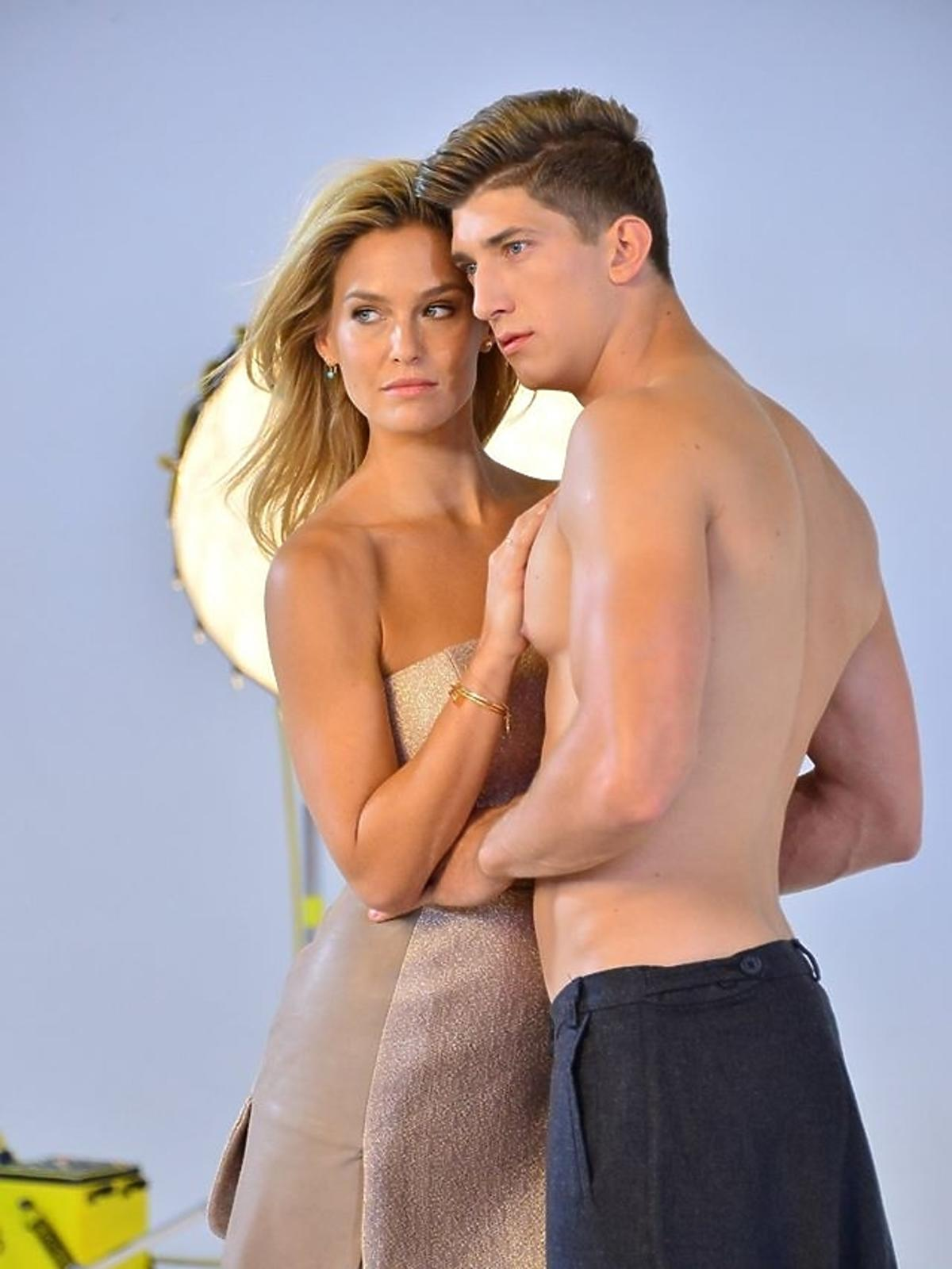 Bar Refaeli i Michał Baryza w sesji Top Model