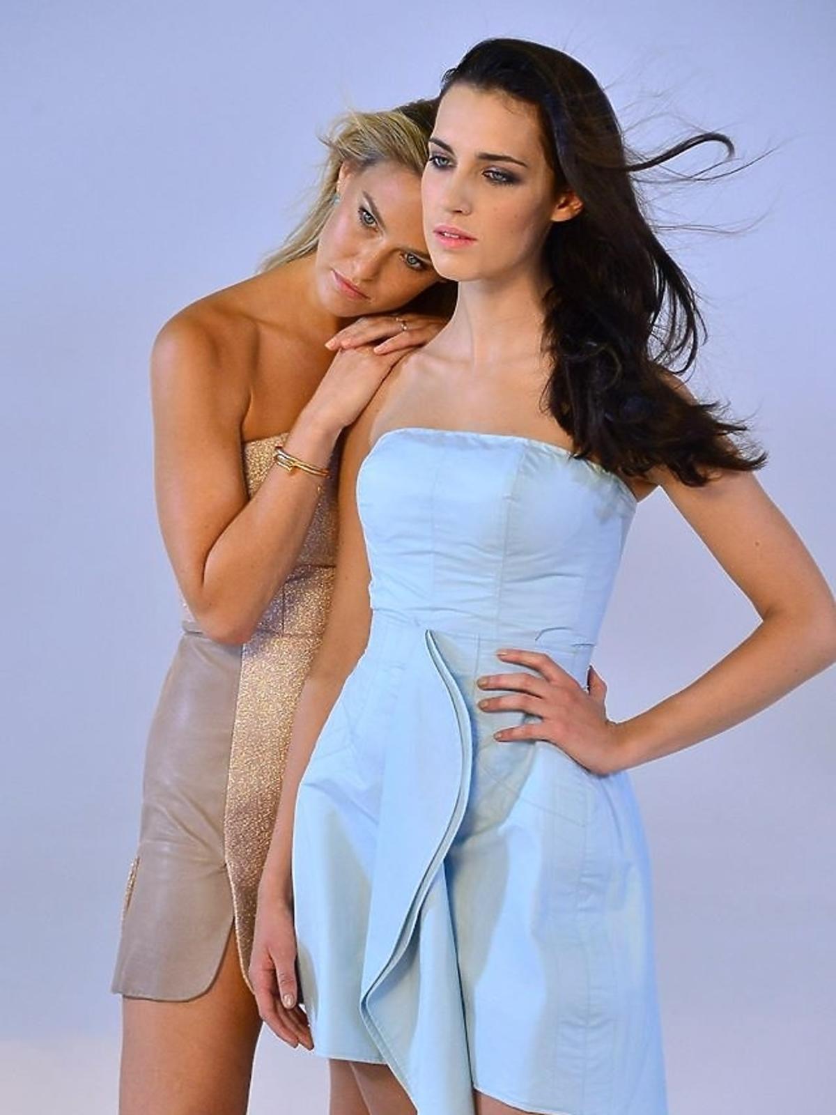 Bar Refaeli i Michalina Strabel w sesji Top Model