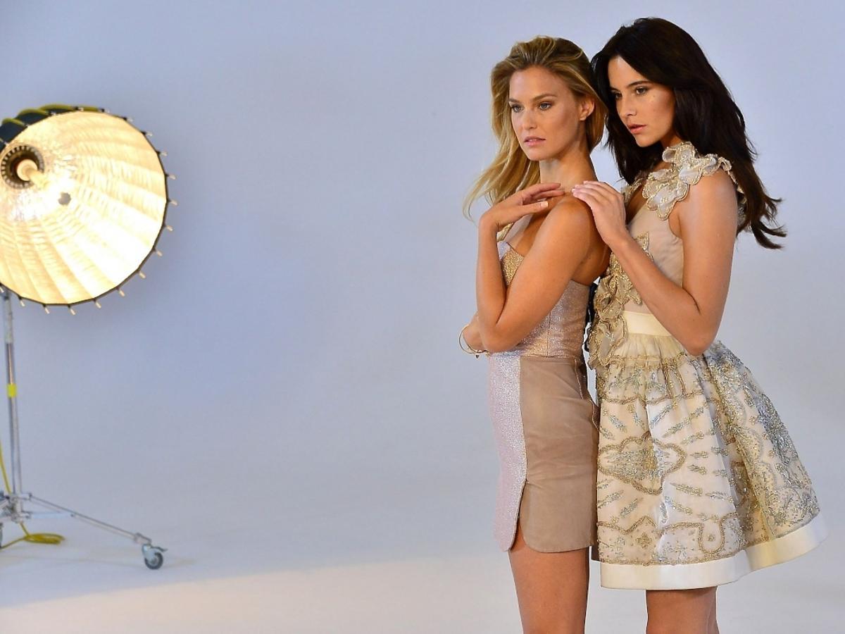 Bar Refaeli i Ola Żuraw w sesji Top Model