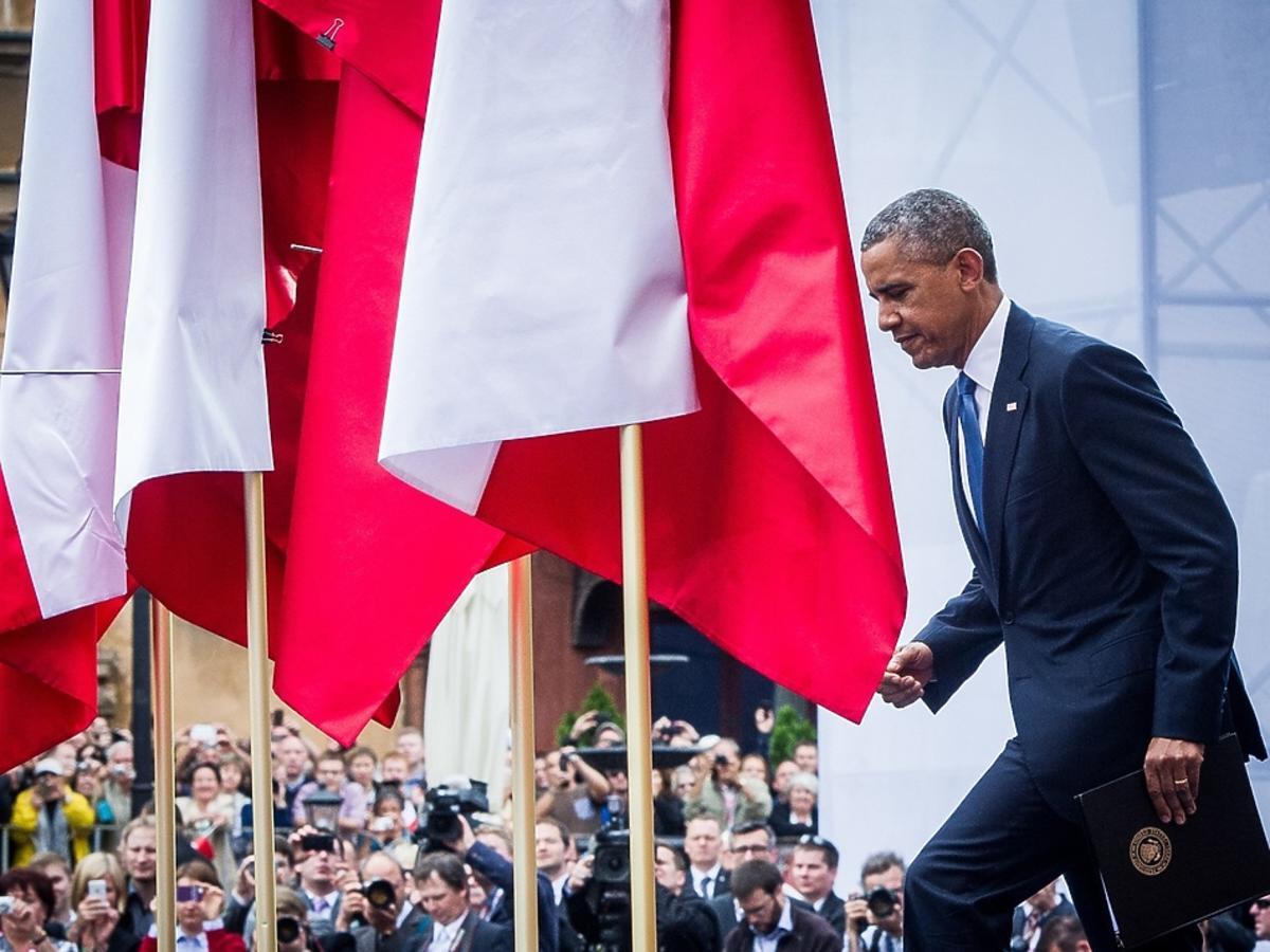 Barack Obama w Polsce