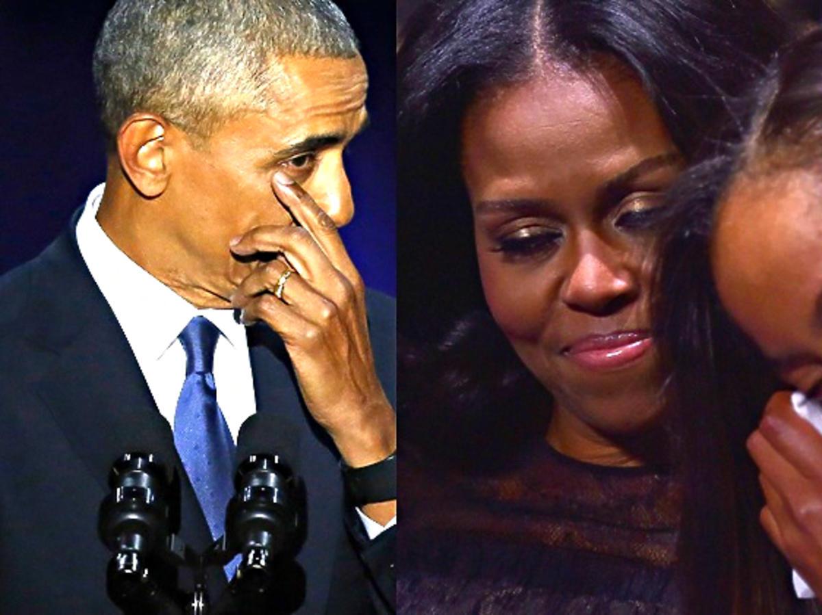 Barack Obama wygłosił wzruszające przemówienie