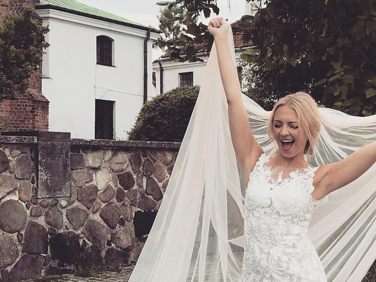 Barbara Kurdej-Szatan w sukni ślubnej