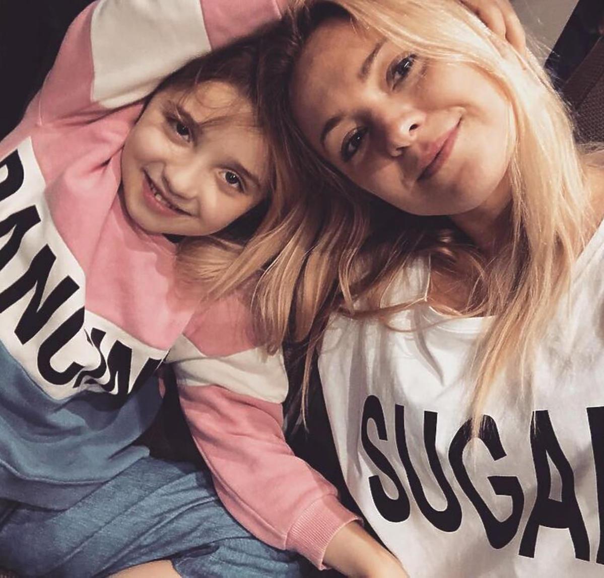 Barbara Kurdej-Szatan z córką Hanią