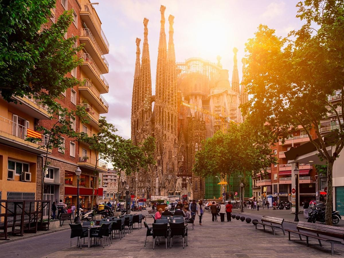Barcelona w obiektywie aparatu.