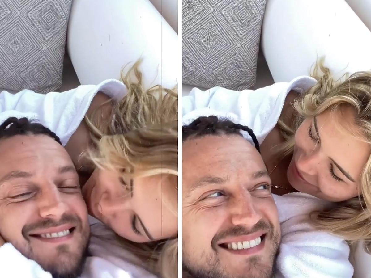 Baron i Sandra Kubicka potwierdzili, że są razem