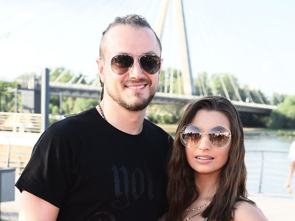 Baron i Wieniawa Julia razem