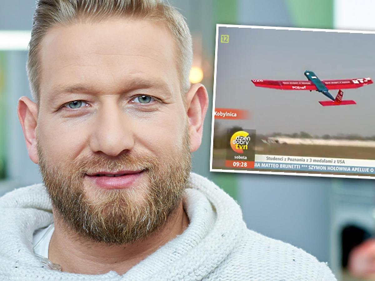 Bartek Jedrzejak i katastrofa małego samolotu w Dzień Dobry TVN
