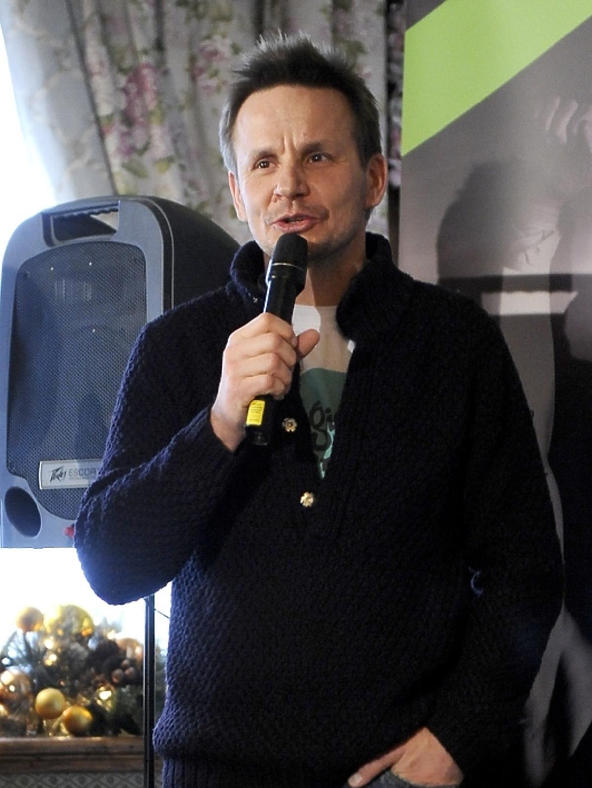 Bartłomiej Topa na konferencji Herbalife Triathlon 2013