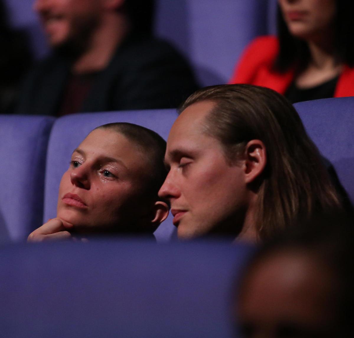 Bartosz Bielenia i Sonja Orlewicz