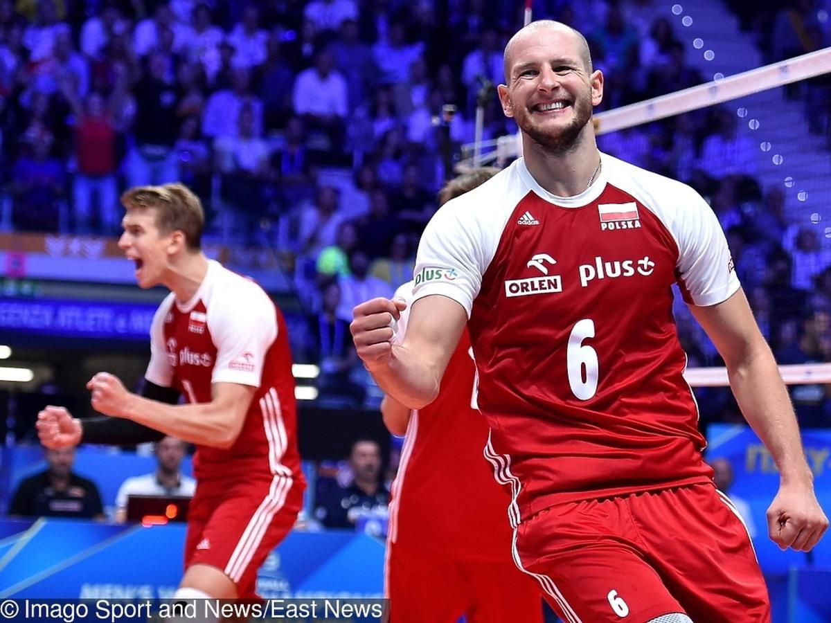 Bartosz Kurek podczas mistrzostw świata w siatkówce