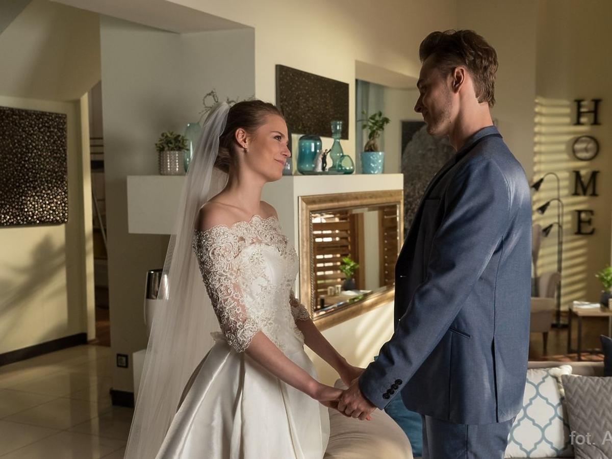 Barwy szczęścia Julia i Józek ślub